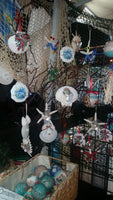 sea shell christmas ornaments