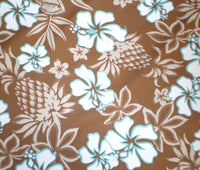 Hawaiian  Shower curtain Coco Pineapple