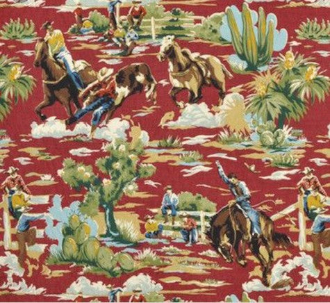 Package Set Cowboys and Horses Red
