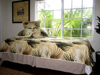 bedspread  Tropical Island Retreat natural