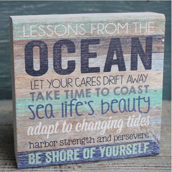 Lessons From the Ocean Small