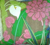 Window Valance Lily  Beach themed
