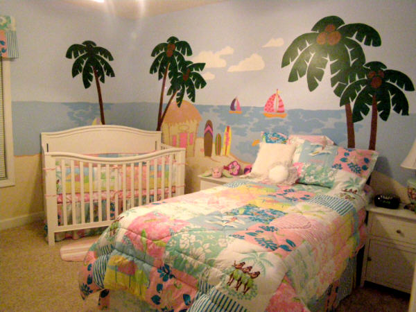 Malibu Girls Beachy comforter