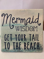 Coaster Mermaid Wisdom