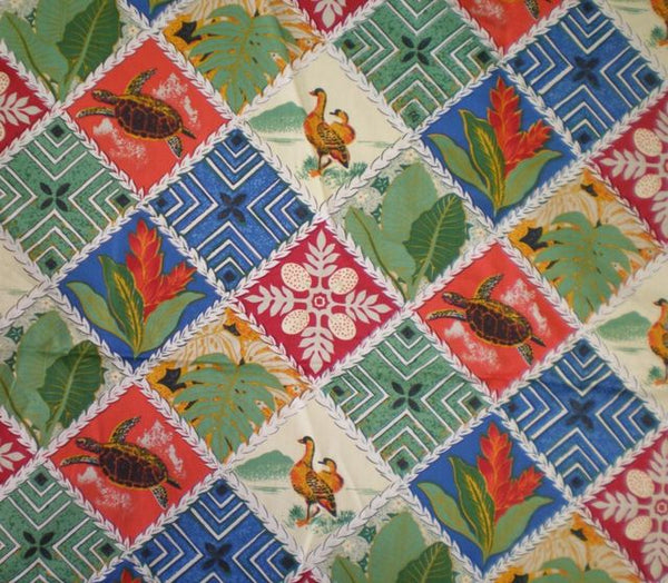Christmas Tree Skirt Hawiian Quilt