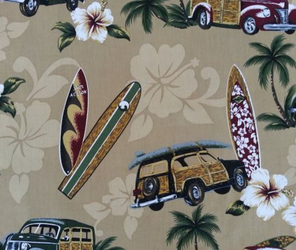 Car Seat Cover  Hawaiian  North Shore Tan