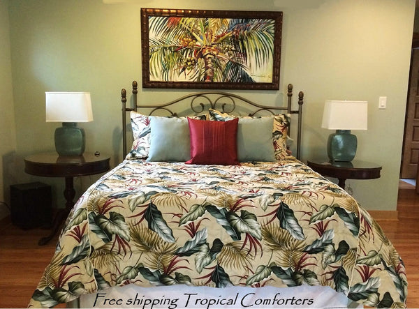 Palm Fronds  Comforter