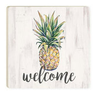 Coaster Pineapple Welcome