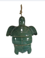 Porcelain Wind Chimes Sea Turtle, Sea shore or Mermaid