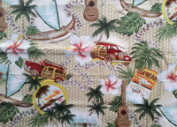 Hawaiian Pillow with Raffia   Road to Hana natural