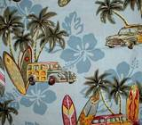 surfer baby woody car baby blanket