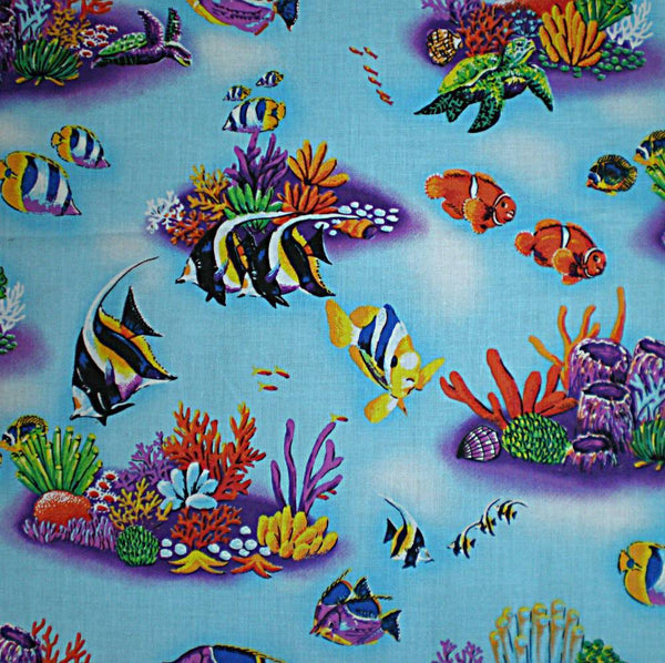 baby blanket tropical fish under water theme baby blanket