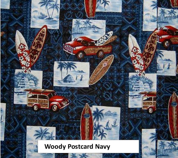 beach baby blanket woody cars and surfboards