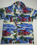 Boys Hawaiian shirt Matching Father son Hawaiian shirts