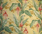 Tropical Decorative pillow Yellow Ginger