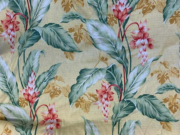 Valance Hawaiian Yellow Ginger