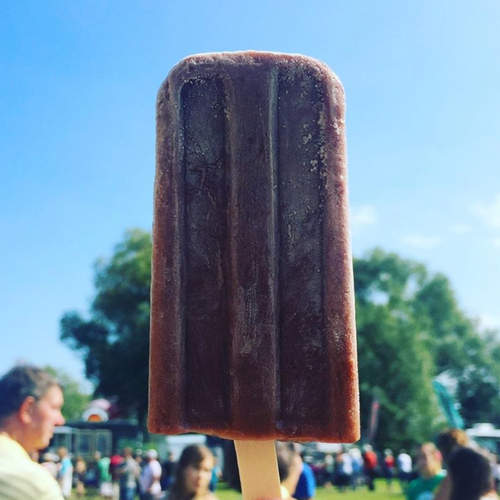 Calgary Vegan Dessert | Chocolate Coconut Ice Pop