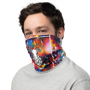 Cosmic Cataclysmia | Antlers & Accents | Designer Safety Mask | Neck Gaiter