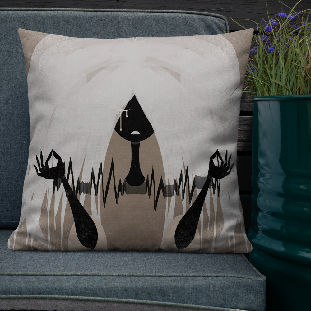 Goth Doll | FragMental LifeLines | Variant Reversal Double-Sided Premium Pillow
