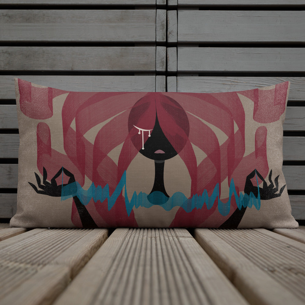 Medusa Doll | FragMental LifeLines | Variant Reversal Double-Sided Premium Pillow