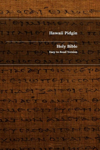 Hawaii Pidgin-English Bilingual NT