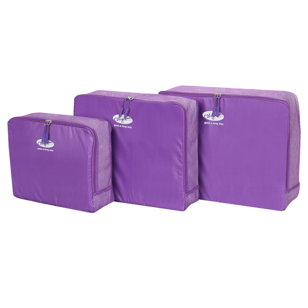 3-Piece Packing Pouch Set