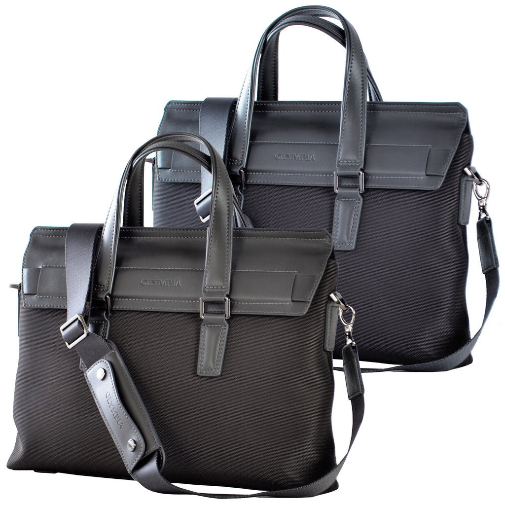 Satchel- Ballistic Nylon with leather