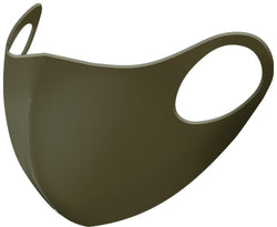 99% ATB-UV+ Reusable Fashion Mask with Antimicrobrial Silver-Ion Nanotechnology (Olive)