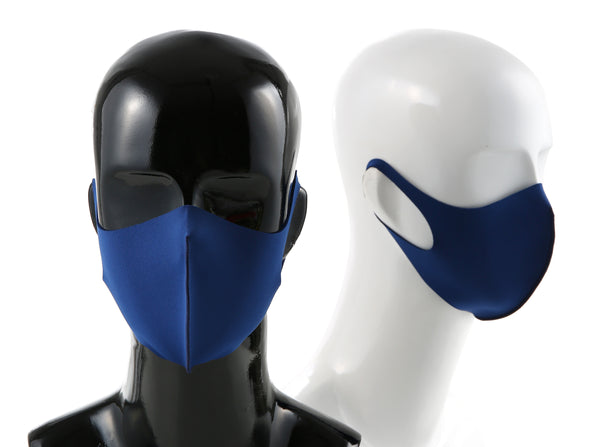 99% ATB-UV+ Reusable Fashion Mask with Antimicrobrial Silver-Ion Nanotechnology (Navy)