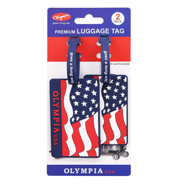 2-Piece Luggage Tag Set