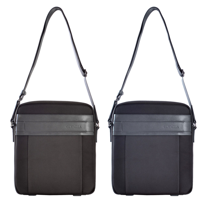 Messenger Bag- Ballistic Nylon with leather