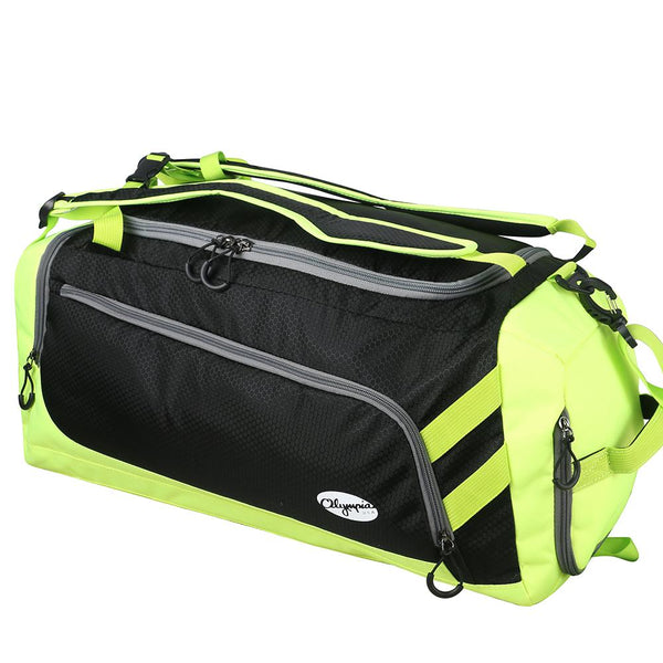 "Blitz 22"" Gym Duffel W/ Backpack Straps"