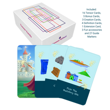 Load image into Gallery viewer, Tensor Cards - Build A Castle Theme