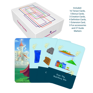 Tensor Cards - Build A Castle Theme
