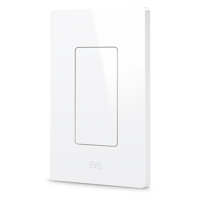 Eve Light Switch - Homekit Enabled Wall Switch