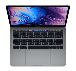 Used MacBook Pro 13-inch Touch Bar 2.7GHz 8th-gen i7 16GB/256GB - Space Gray (2018) - AppleCare+ to Oct 24 2021