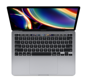 Apple MacBook Pro Touch Bar 13-inch 1.4GHz QC 8th-gen i5 8GB 512GB - Space Gray (2020)