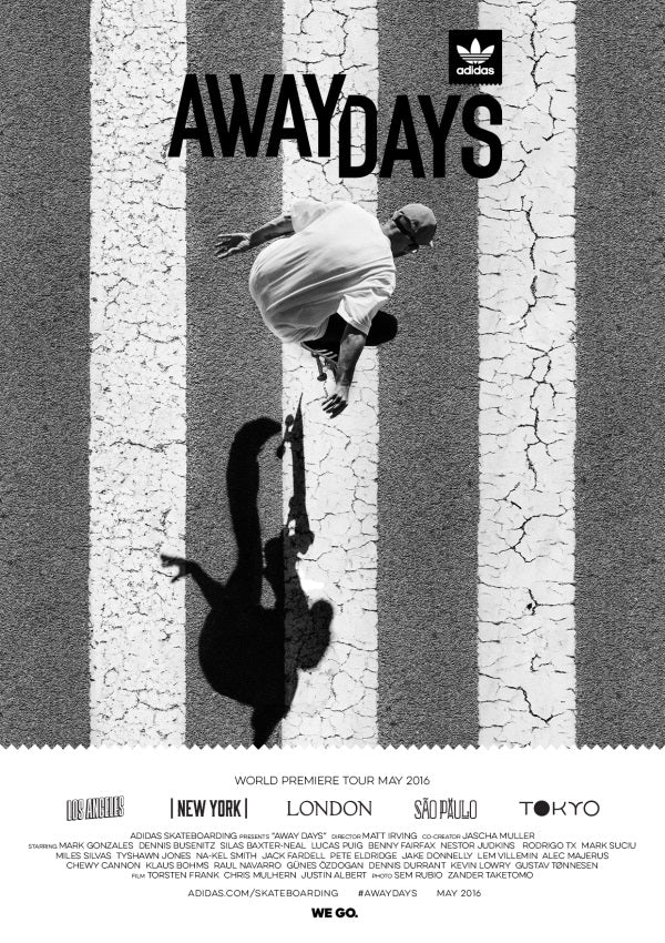 Away Days Adidas Skate Film