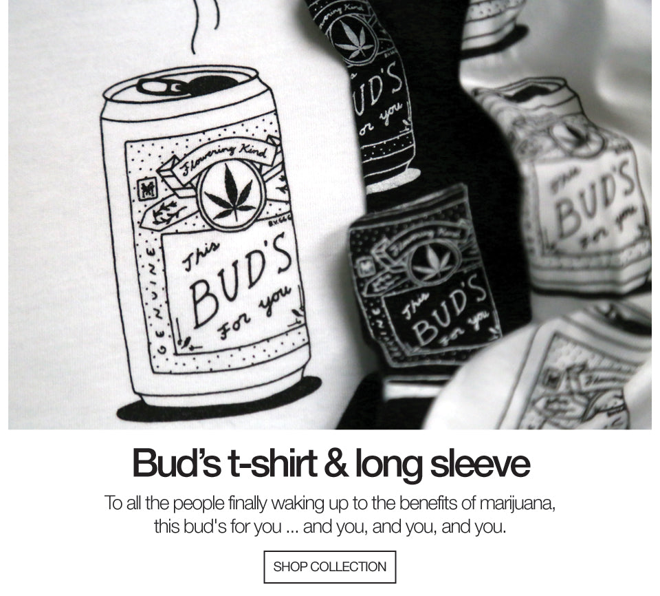 Bud's T-shirt and Long Sleeve