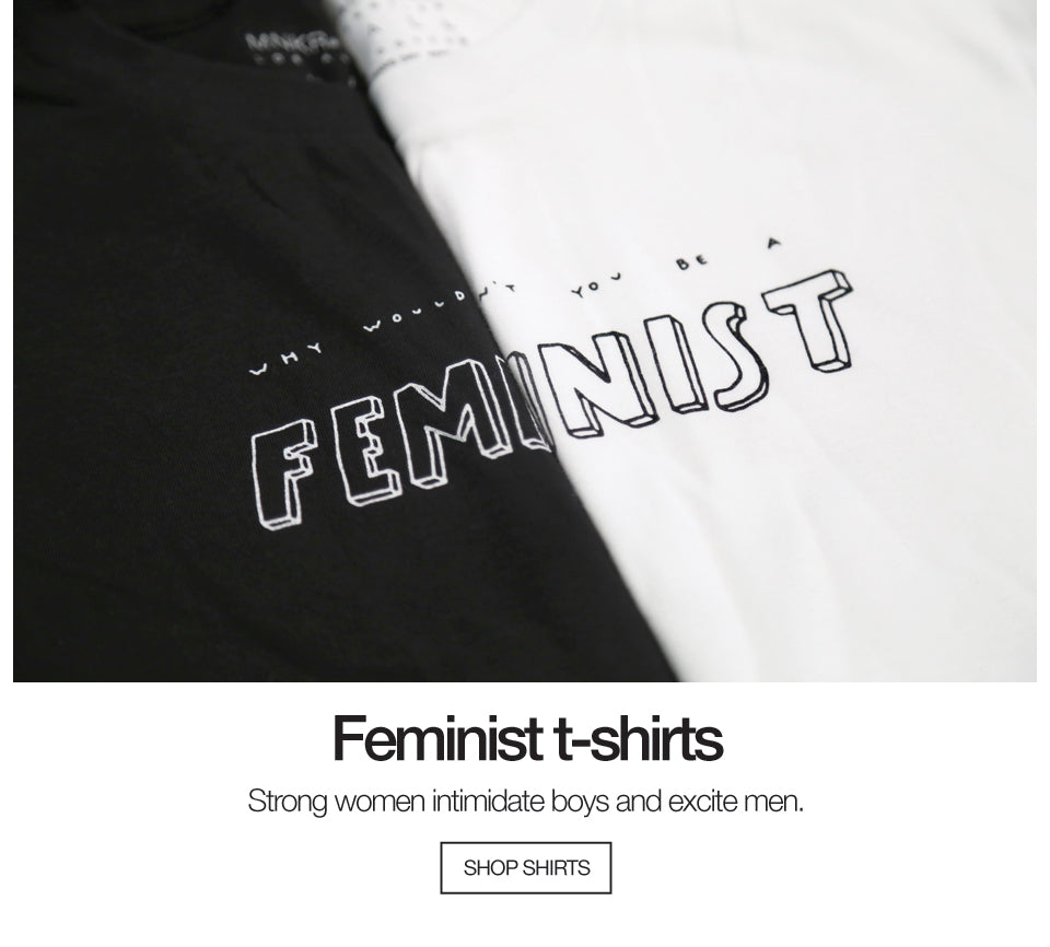 Feminist Shirts White and Black