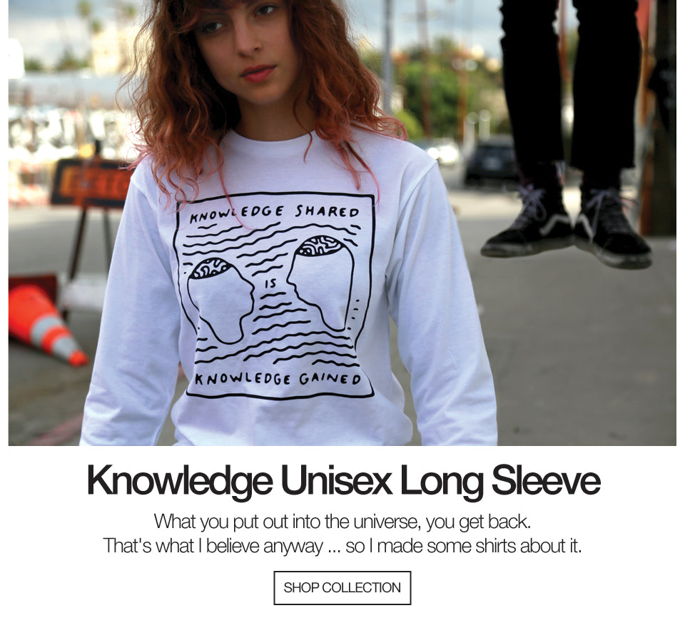 Knowledge Unisex Long Sleeve