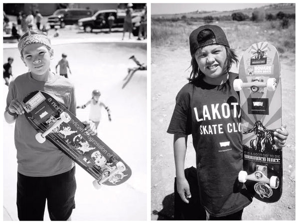 Lakota Youth Skaters