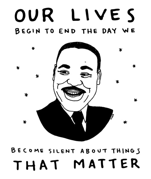 Martin Luther King Jr. Drawing