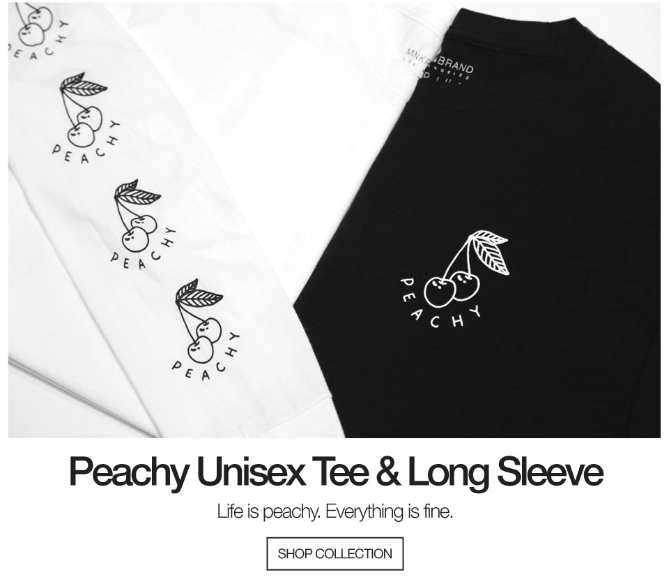 Peachy T-shirt and Long Sleeve