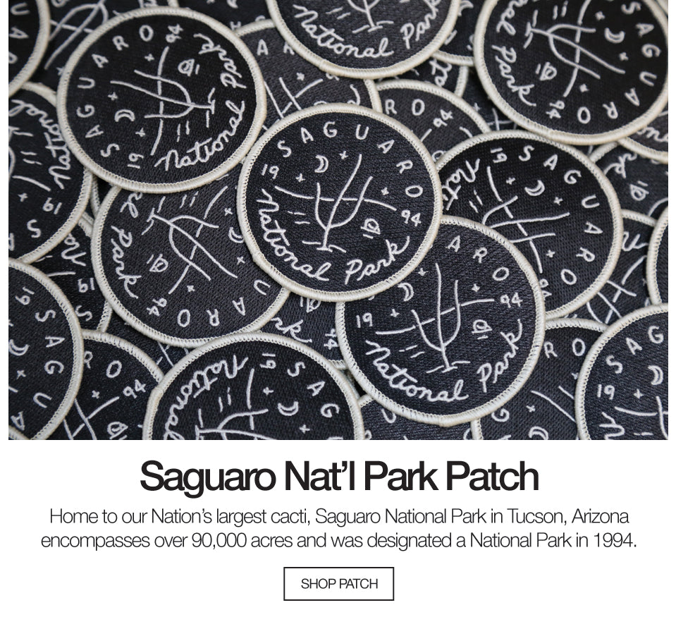 Saguaro National Park Patch