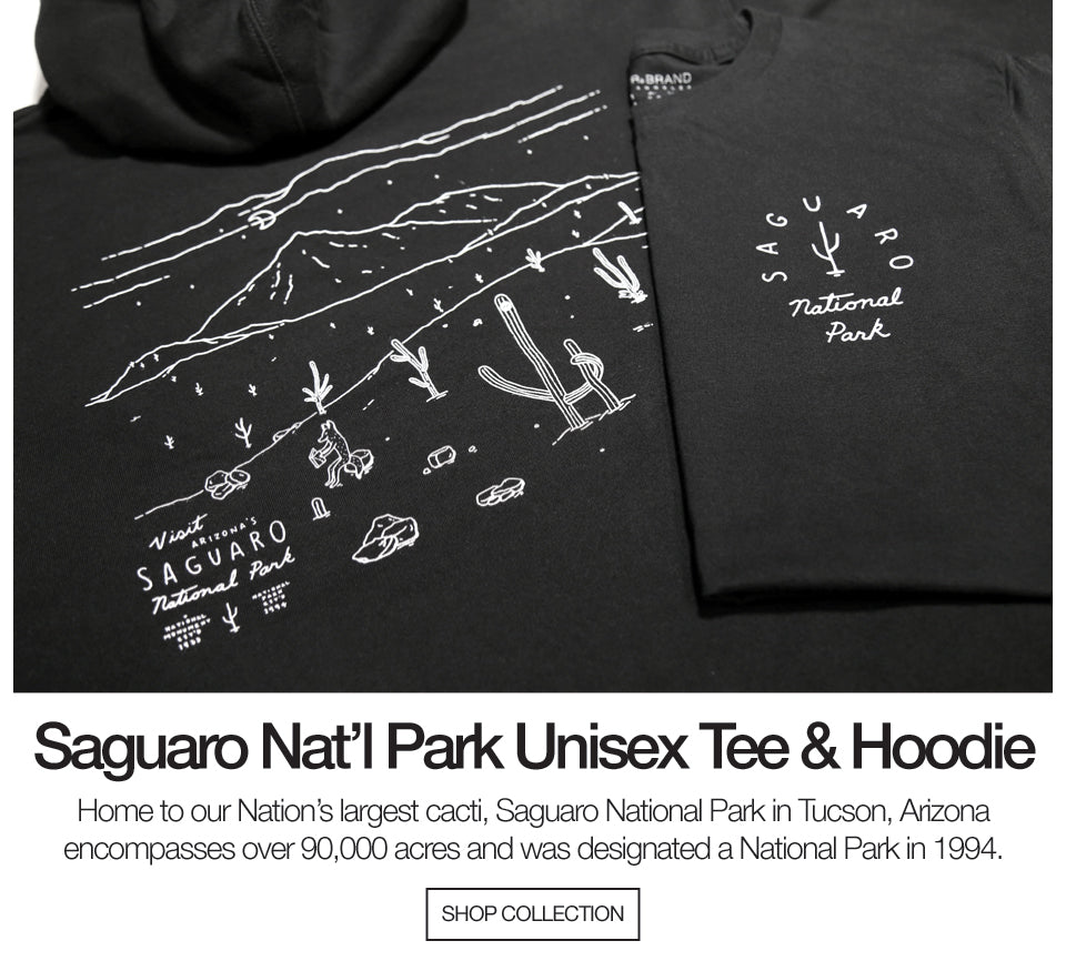 Saguaro National Park Tee and Hoodie