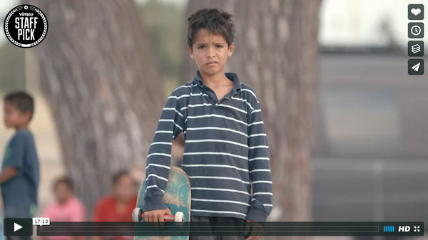 Skateboarding in Pine Ridge Documentary