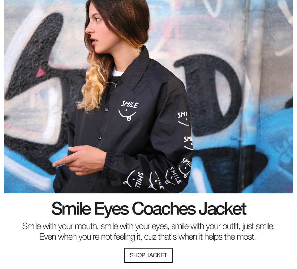 Smile Eyes Coaches Jacket