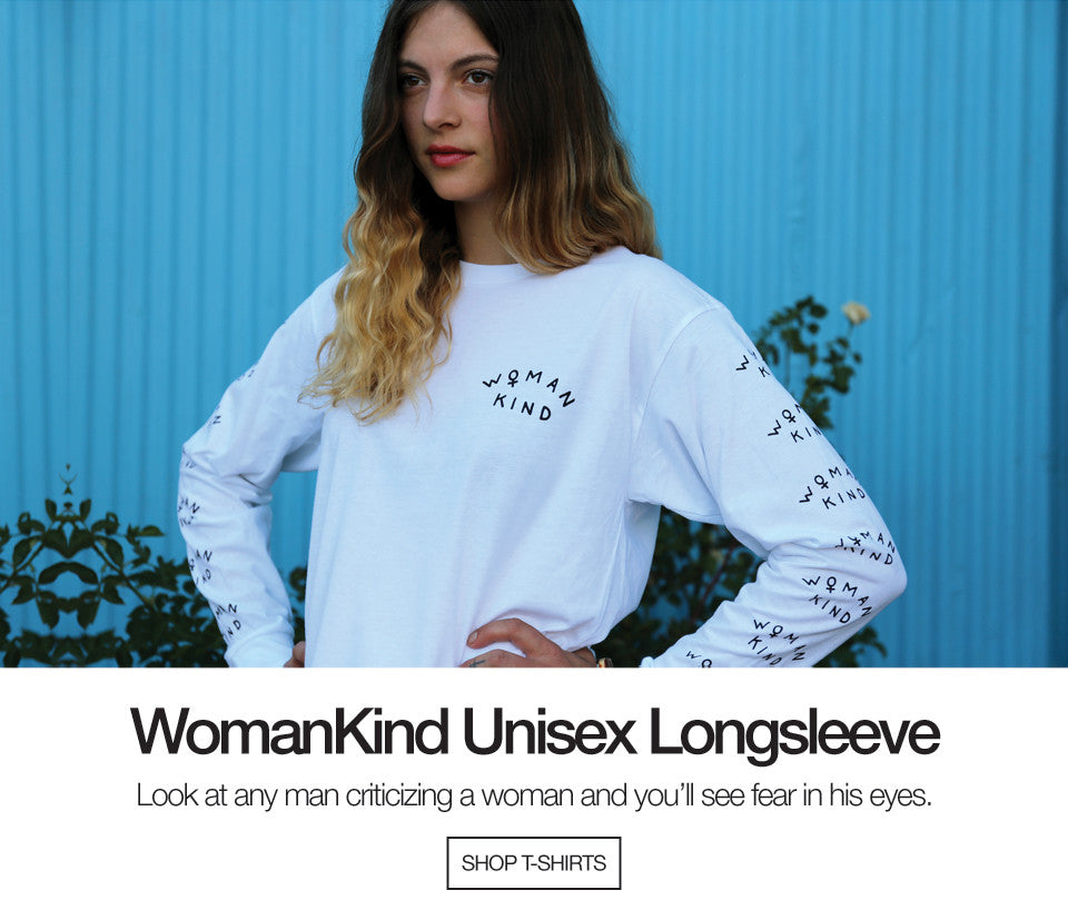 WomanKind Unisex Long Sleeve White
