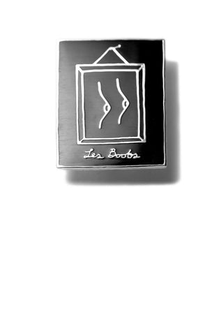 Les Boobs Enamel Pin